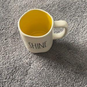 Rae Dunn Shine Yellow Mug